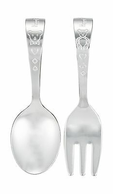 Luckywood Baby Fork and Spoon Set HT-125