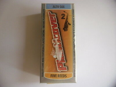 RICO PLASTICOVER- 5 Anches-reeds saxophone alto- Force 2- NEW