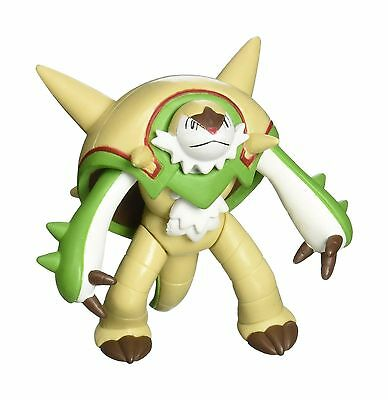 """Takaratomy Official Pokemon X and Y SP 07 2.5"""" Chesnaught Action Figure - NEW"""