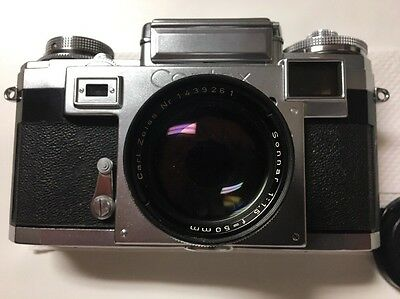 Contax IIIa With Zeiss 50mm 1.5 Lens