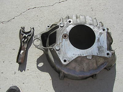 Nice Chevy GMC Hydraulic Bell Housing #15530202 4spd  with clutch fork..