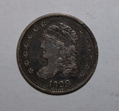 1829 Capped Bust Half Silver Dime C87