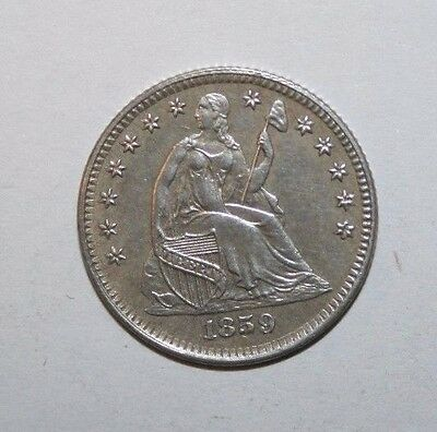1859 Proof Seated Half Dime H41