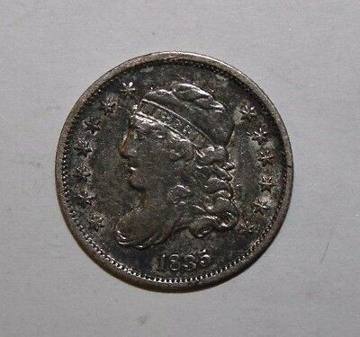 1835 Capped Bust Half Silver Dime H3