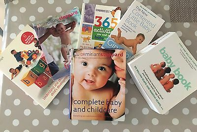 Bundle Of Baby Books, Incl. Miriam stoppard, Sears, Gina Ford