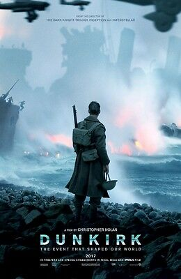 """DUNKIRK  (11"""" x 17"""") Movie Collector's Poster Print (T1) - B2G1F"""