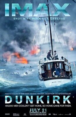 """DUNKIRK  (11"""" x 17"""") Movie Collector's Poster Print (T3) - B2G1F"""