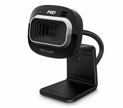 Microsoft LifeCam HD-3000 720p HD USB Web Camera (Black)