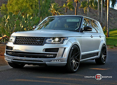 2015 Land Rover Range Rover Supercharged Sport Utility 4-Door 2015 Land Rover Range Rover 4WD 4dr S/C FAB DESIGN