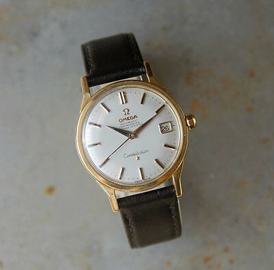 Vintage Omega Constellation 18ct Gold 1963