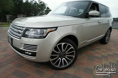 2014 Land Rover Range Rover Autobiography Sport Utility 4-Door Land Rover Autobiography MSRP $142,215.00