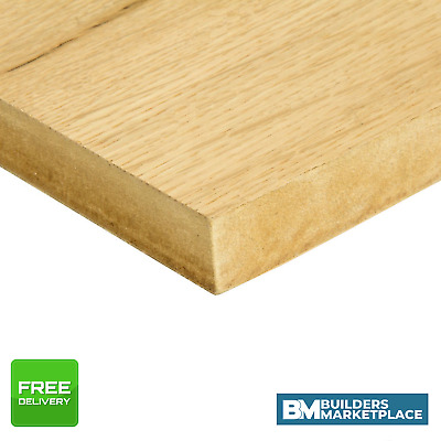 Oak Veneer MDF Crown Cut - Veneered MDF Board - Crown Cut Oak MDF Sheets