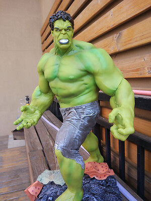 60CM 1/4 Scale Super Giant Size Marvel The HULK Green Giant Figures Statue Gift