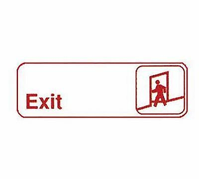 Winco SGN-381W Red Sign