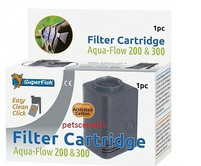 Superfish Aqua Flow 200 & 300 Filter Cartridge 1 piece