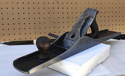 "STANLEY BAILEY No. 7 SMOOTH BOTTOM PLANE 22"" LONG IN GOOD CONDITION U.S.A."
