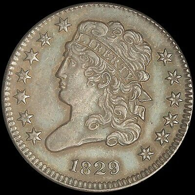 1829 Classic Head Half Cent - Nice Details - Free Shipping USA