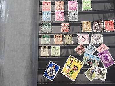 European stamps A to Z collection in big stockbook mostly used stamps