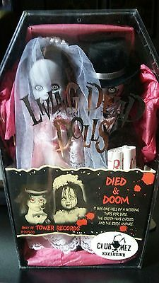 Club Mez Exclusive Living Dead Dolls Died & Doom Bride Not Blood Tower Records