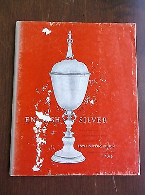 Vintage English Silver Catalog Royal Ontario Museum 1958 Silver Marks Proofs