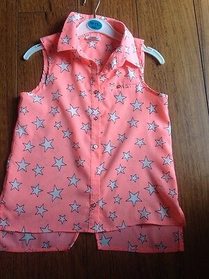 Girls River Island Summer Top Age 9 Years