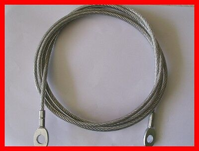 Multigym Cables - Cable eyelet - 4mm. diameter (Nylon coated 6mm.)