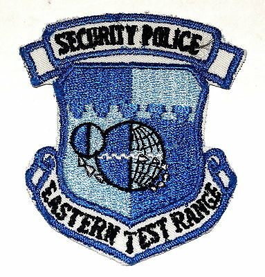 EASTERN TEST RANGE CAPE CANAVERAL FLORIDA FL Police Sheriff Patch SECURITY 3.5""