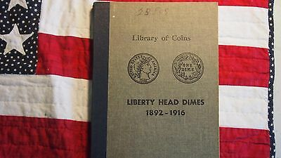 Library Of Coins Album #9 - Liberty Head Dimes / Barber Dimes (1892-1916) - Used