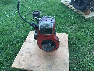 Vintage Wisconsin AK - Briggs Straton Style Air Cooled Engine Motor - Runs Good!