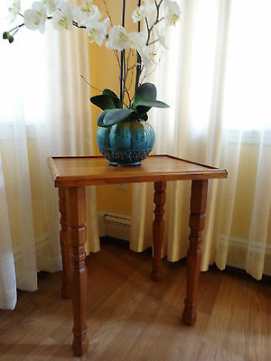 Vintage, Coffee Side Table Solid Wood Child Desk
