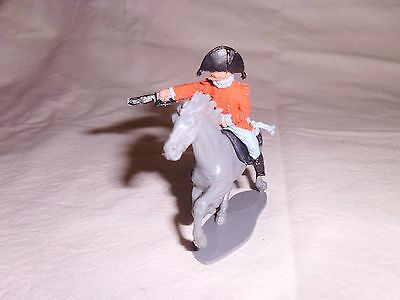 vintage plastic toy soldiers 1/32 timpo  napolionic horseman
