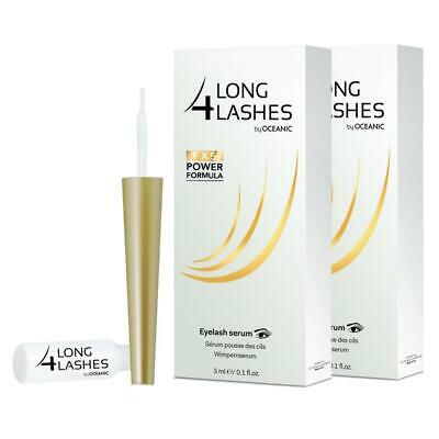 2x Long4lashes Wimpernserum FX5 Neue Power Formel 3ml (2x3ml)