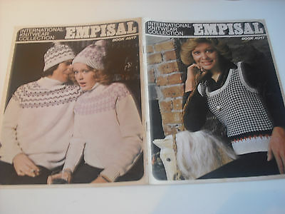 Knitting Machine Books Empisal,book 17.mens & Ladies .child