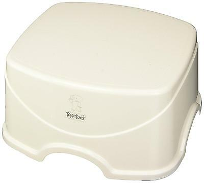 Tippitoes Step Up Stool White Grey