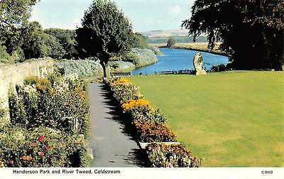 Coldstream Henderson Park and River Tweed