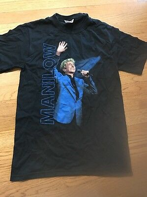 BARRY MANILOW Tshirt Size Small. - New