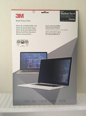 Genuine 3M Privacy Filter (Frameless) for MacBook Pro 15 inch Retina - PFNAP003