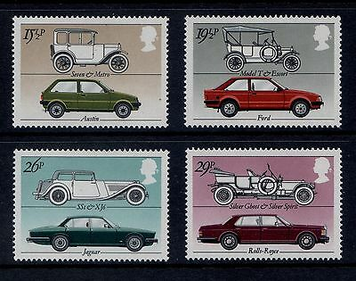 Sg1198-1201 1982 Cars ~ Unmounted Mint Gb