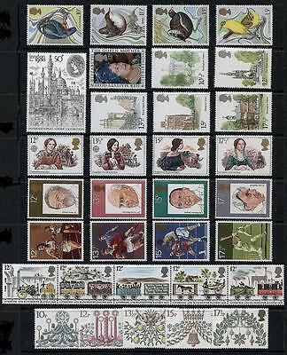 SG1109-1142 1980 GB COMMEMORATIVES YEAR SET Complete ~ 9 Sets  Unmounted Mint.