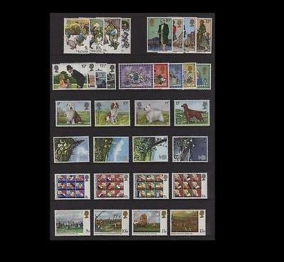 SG1075-1108 1979 COMMEMORATIVES YEAR SET ~ 8 Sets  Unmounted Mint.