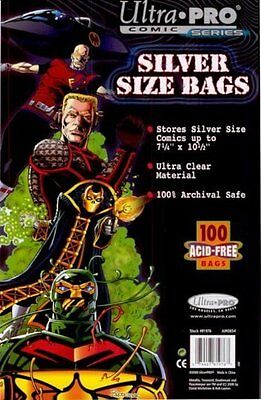500 Ultra Pro Silver comic Bags And Boards  Brand New Factory Sealed
