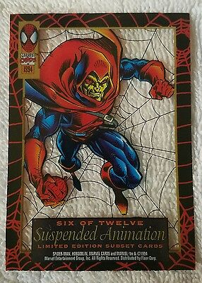 ●SPIDER-MAN●HOBGOBLIN●SUSPENDED ANIMATION●c1994●FIRST EDITION●6 OF 12●MINT●MINT●