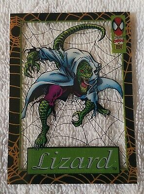 ●SPIDER-MAN●SUSPENDED ANIMATION●LIZARD●c1994●FIRST EDITION●12 OF 12●MINT●MINT●