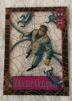 ●SPIDER-MAN●SUSPENDED ANIMATION●DOCTOR OCTOPUS●c1994●FIRST EDITION●9 OF 12●MINT