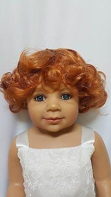 """NWT Monique Brittany Carrot Doll Wig 16-17"""" fits Masterpiece Doll(WIG ONLY)"""