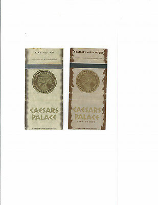 Caesars Palace matchbooks