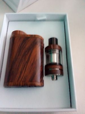 PICO 75W BOX MOD WITH MELO 3 MINI TANK IN WOOD GRAIN,(is at a super low price).