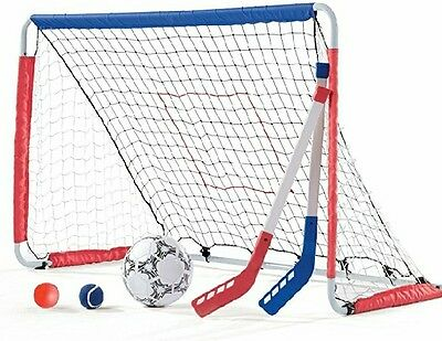 Step2  Kickback Soccer Goal And Pitch Back
