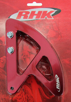 Honda CRF250 R 2004 - 2017 RHK Rear Disc Guard Red