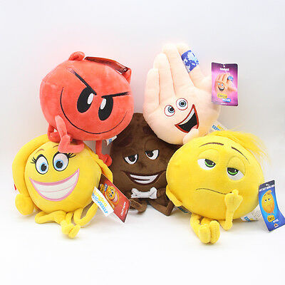 Emoji movie plush toys Meh/Poop/Smiley/Devil/Smiley
